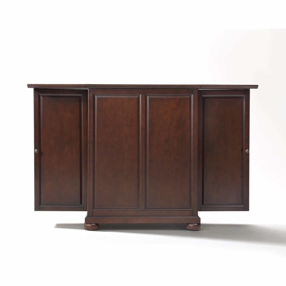 Crosley Furniture Alexandria Expandable Bar Cabinet In