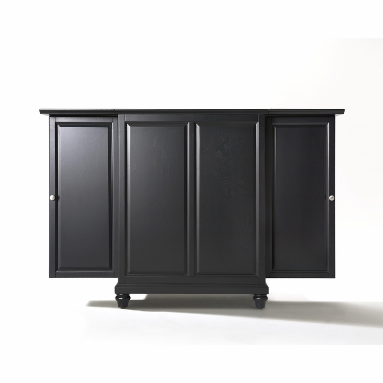 Crosley Furniture - Cambridge Expandable Bar Cabinet in Black Finish - KF40001DBK