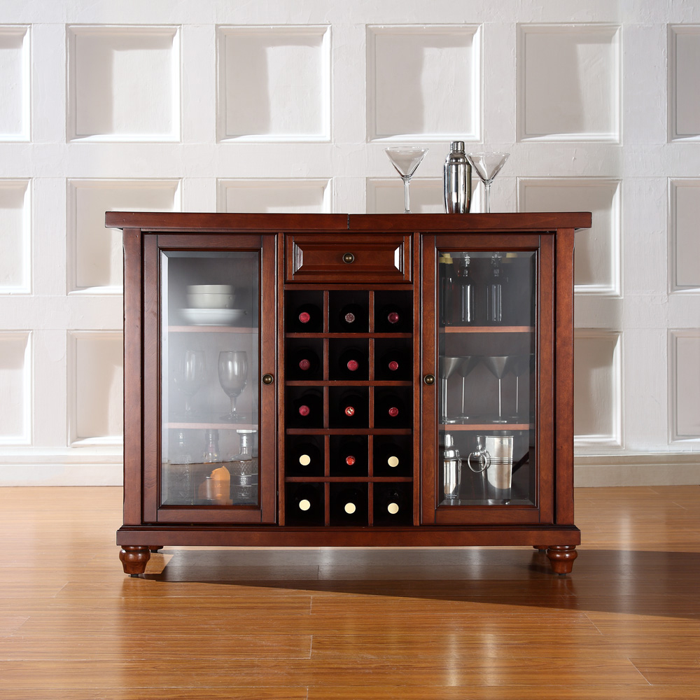 Cambridge Sliding Top Bar Cabinet In