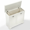 Crosley Furniture - Lydia Lift-Top Hamper  - CF7015-WH