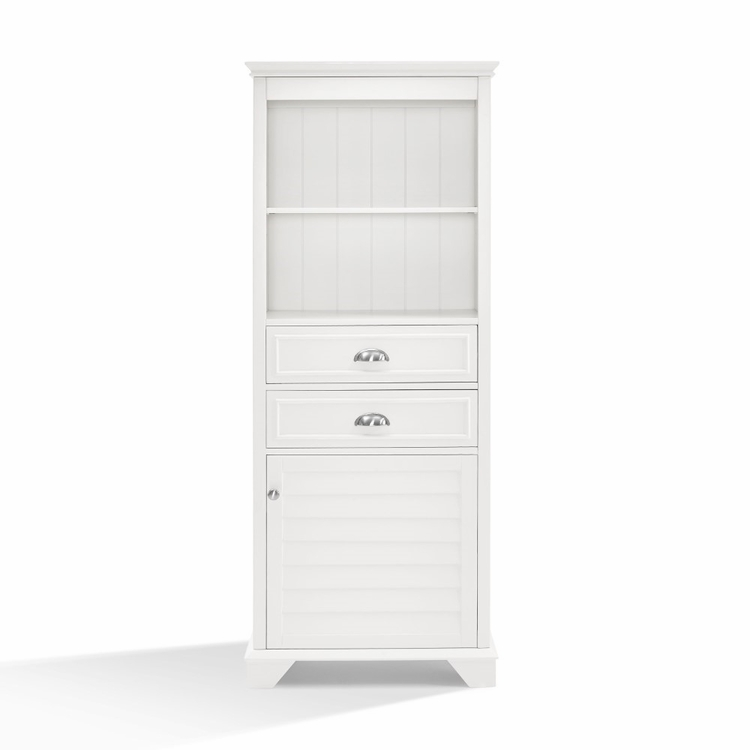 Crosley Furniture - Lydia Tall Cabinet - CF7001-WH