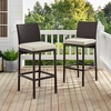 Crosley Furniture - Palm Harbor Deluxe Wicker Bar Stool Set Of 2 - KO70143BR-SA