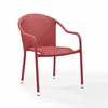 Crosley Furniture - Palm Harbor Outdoor Wicker Stackable Chairs - Set Of 2 Red - CO7137-RE