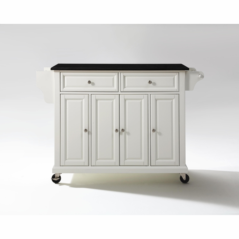 Ordinaire ... Granite Top Kitchen Cart/Island In White Finish   KF30004EWH. Hover To  Zoom