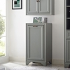 Crosley Furniture - Tara Linen Hamper in Vintage Gray - CF7009-GY