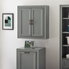Crosley Furniture - Tara Wall Cabinet in Vintage Gray - CF7012-GY