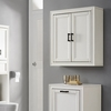 Crosley Furniture - Tara Wall Cabinet in Vintage White - CF7012-WH