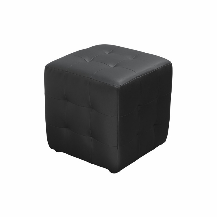 Diamond Sofa Zen Collection Bonded Leather Tufted Cube