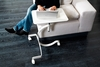 Domitalia - Media Notebook Desk on Wheels