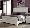 Coaster - Furiani California King Panel Bed In White - 203351KW