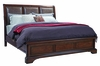 Emery Park - Brentwood California King Leather Sleigh Bed - I08-425_410_407