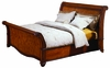 Emery Park - Calistoga California King Sleigh Bed - I74-404_410_405