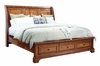 Emery Park - Summerfield Queen Sleigh Storage Bed - I09-400_402_403D