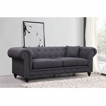 Fabric Sofas by Meridian Furniture