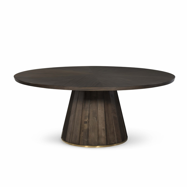 "Fine Furniture Design - Runway Accolade Base and Zeal 72"" Round Table Top"