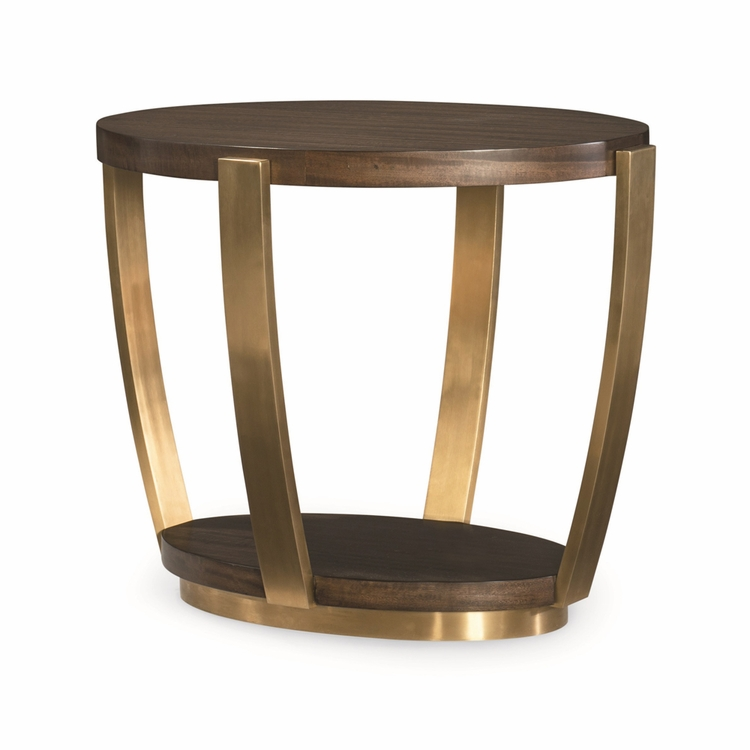 Fine Furniture Design - Runway Soriee Oval End Table - 1780-972