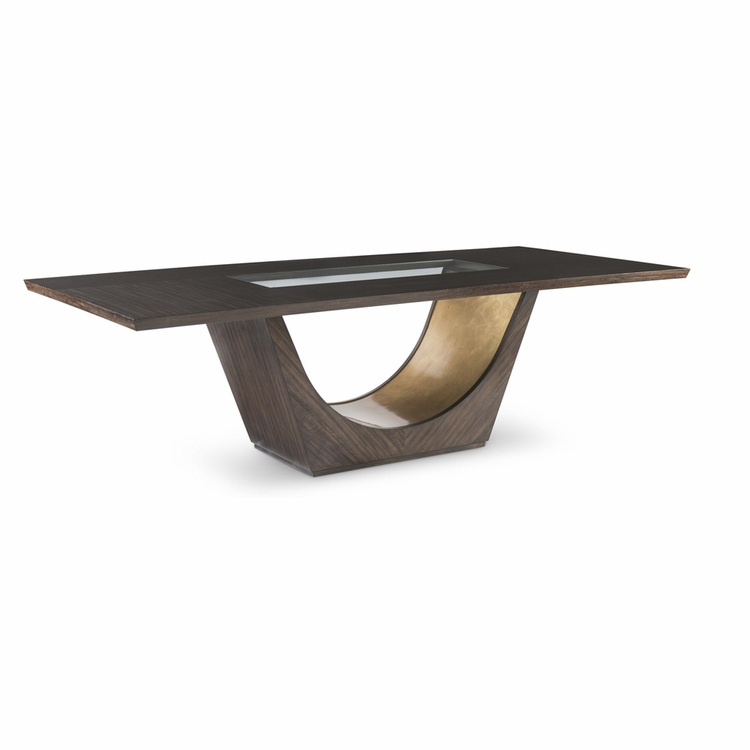 "Fine Furniture Design - Runway Tegola 102"" Dining Table"