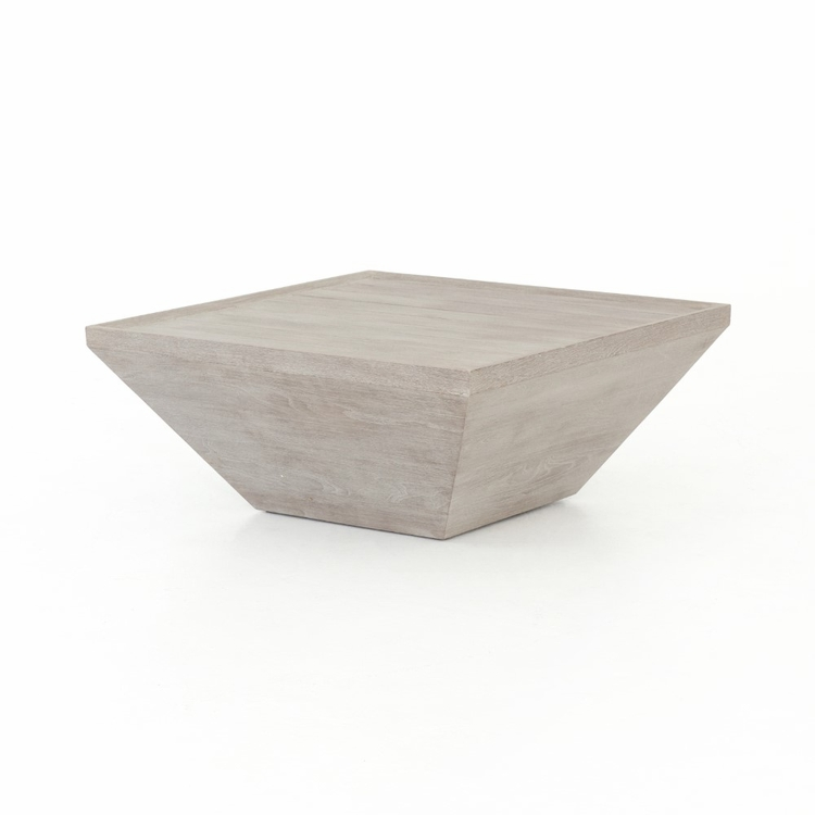 Four Hands - Delwin Square Outdoor Coffee Table - Grey - JSOL-010A