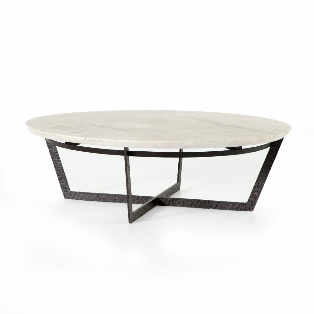 Four Hands Felix Round Coffee Table Isd 0199
