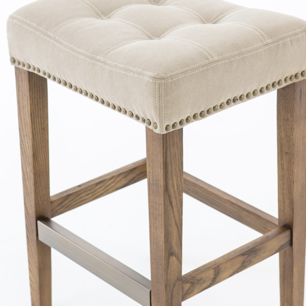 Four Hands Sean Counter Stool With Kickplate Desert