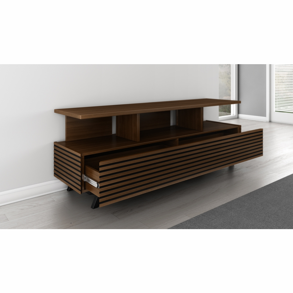 Furnitech 70 Mid Century Modern Tv Stand Media Console For Flat