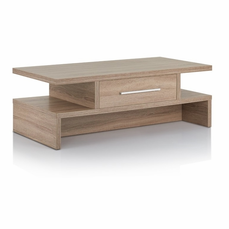 Astounding Furniture Of America Knoxy Modern Coffee Table In Light Oak Idi 151127Ct Gmtry Best Dining Table And Chair Ideas Images Gmtryco