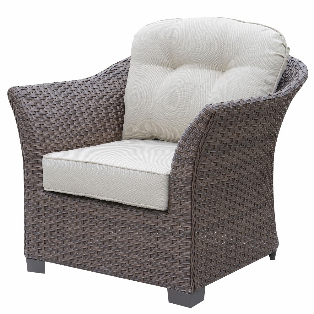 Super Furniture Of America Sorieda Contemporary Style Outdoor Patio Arm Chair In Brown Idf Os1829Br Ch Pdpeps Interior Chair Design Pdpepsorg