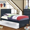 Furniture of America - Stella Modern Twin Bed - IDF-7941BL-T