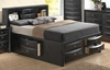 Glory Furniture - Queen Storage bed  - G1500G-QSB3