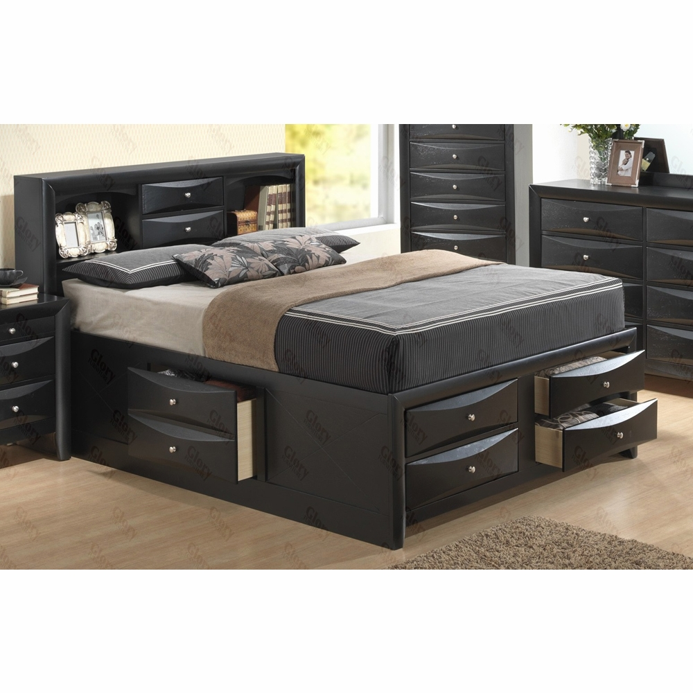 Glory Furniture Queen Storage Bed G1500g Qsb3