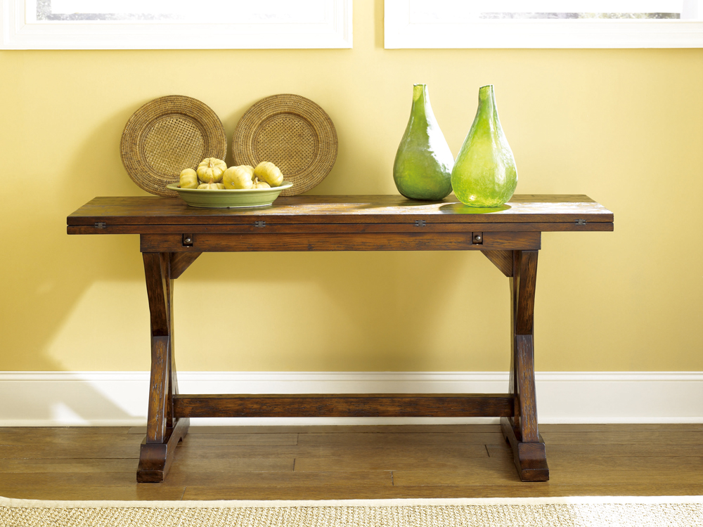Hammary Hidden Treasures Flip Top Console Table 090 276