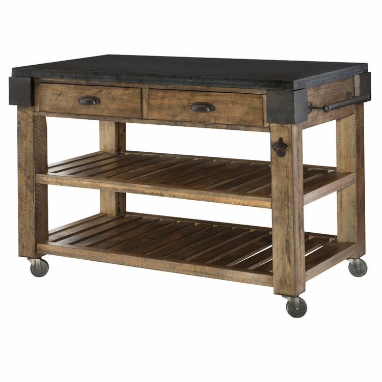Hammary - Hidden Treasures Kitchen Island (KD) - 090-763