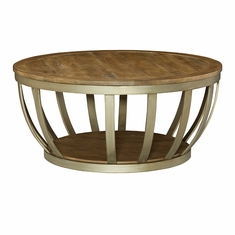 Hammary   Modern Theory Round Cocktail Table (KD)   449 911