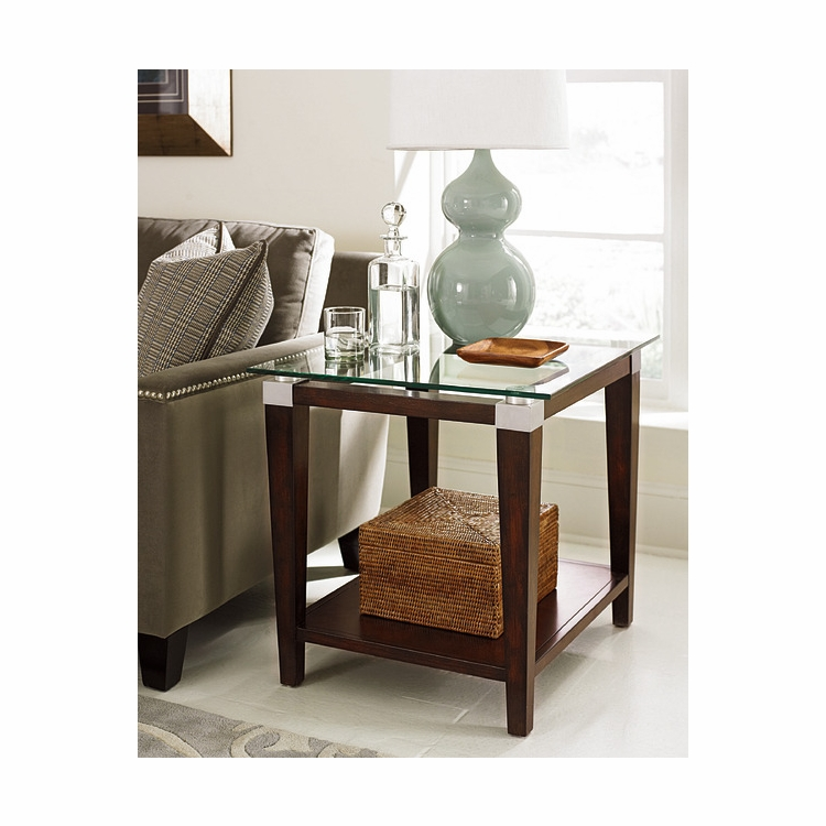 Hammary - Solitaire Rectangular End Table - 247-915