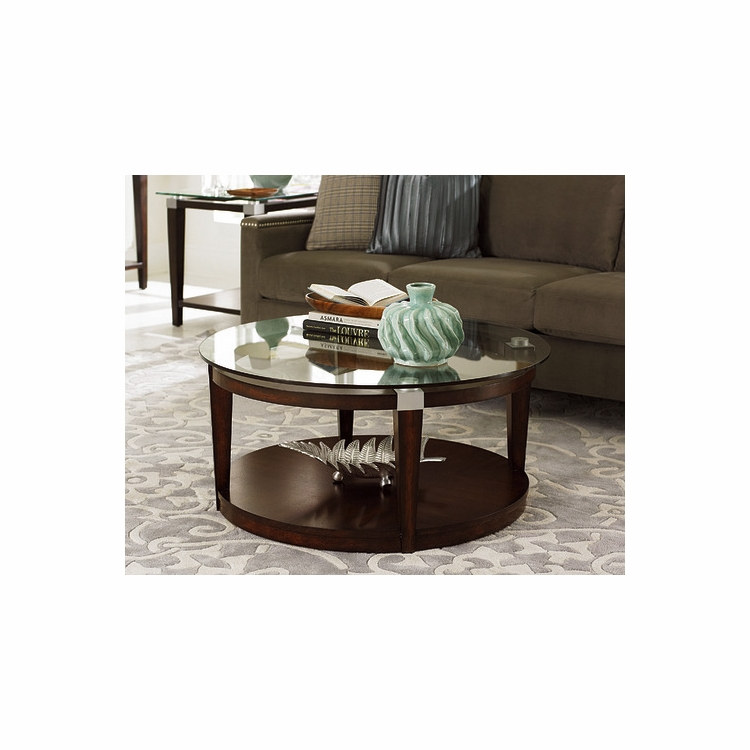 Hammary - Solitaire Round Cocktail Table - 247-911