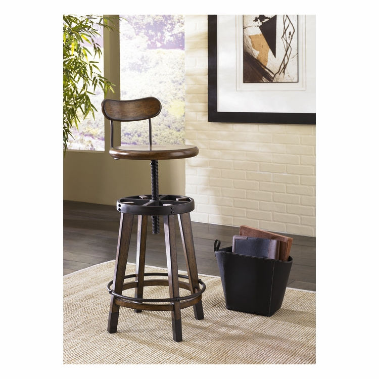 Outstanding Hammary Studio Home Adjustable Stool 166 948 Pabps2019 Chair Design Images Pabps2019Com