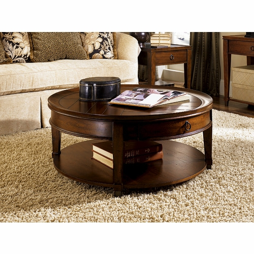 Hammary - Sunset Valley Round Cocktail Table - 197-911