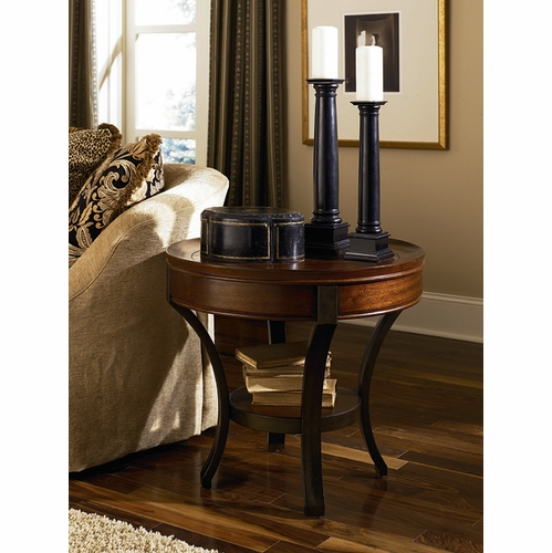 Hammary - Sunset Valley Round End Table - 197-917