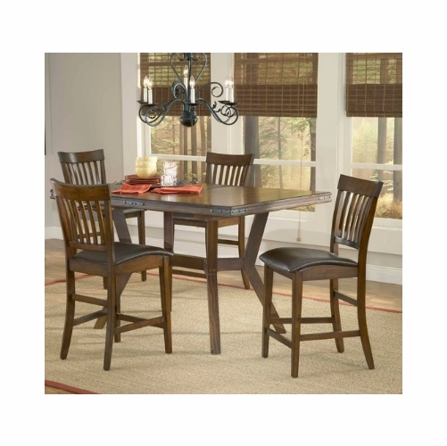 Hillsdale - Arbor Hill 5-Piece Counter Height Dining Set   - 4232GTBS
