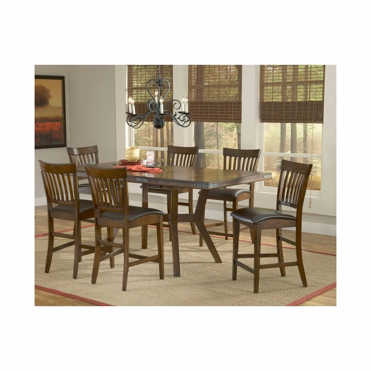 Hillsdale - Arbor Hill 7-Piece Counter Height Dining Set   - 4232GTBS7