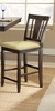 Hillsdale - Arcadia Non-Swivel Counter Stool  Set of 2 - 4180-822YM