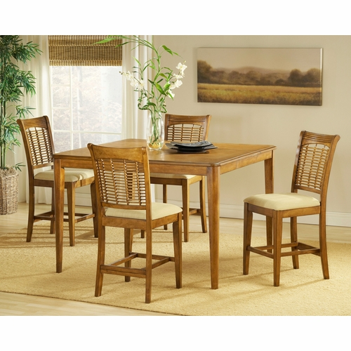 Hillsdale - Bayberry 5-Piece Counter Height Dining Set - 4766DTBSG5