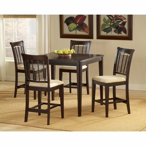 Hillsdale - Bayberry 5-Piece Counter Height Dining Set - 4783DTBSG