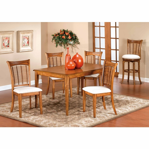Hillsdale - Bayberry 5-Piece Rectangle Dining Set   - 4766DTBCRCT