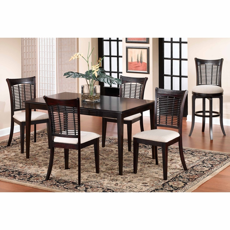 Hillsdale - Bayberry 5-Piece Rectangle Dining Set   - 4783DTBCRCT