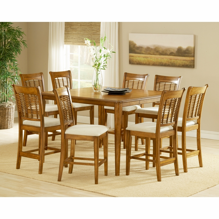 Hillsdale - Bayberry 9-Piece Counter Height Dining Set - 4766DTBSG9