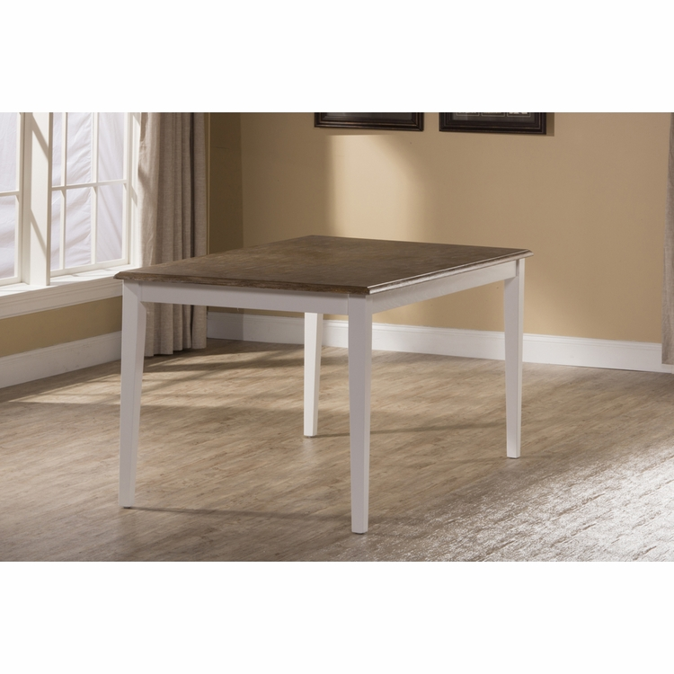Hillsdale - Bayberry / Embassy Rectangle Dining Table - White - 5791-814