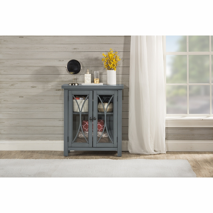 Hillsdale - Bayside Cabinet Two Door In Robin Egg Blue - 6286-891C