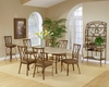 Hillsdale - Brookside 5-Piece Rectangle Dining Set With Diamond Back Chairs - 4815DTBCDM