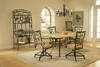 Hillsdale - Brookside 5-Piece Rectangle Dining Set With Oval Back Caster Chairs - 4815DTBCOVC